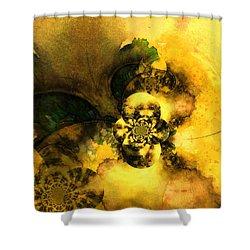 Scream Of Nature Shower Curtain by Miki De Goodaboom