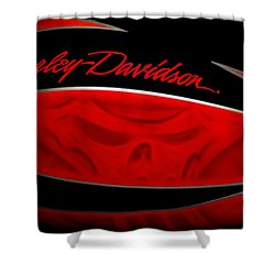 Harley Boo Shower Curtain
