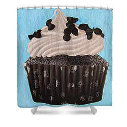 Scrumptious Shower Curtain by Kayleigh Semeniuk