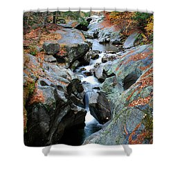 Sculptured Rocks Shower Curtain