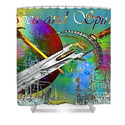 Sea And Spirit Shower Curtain