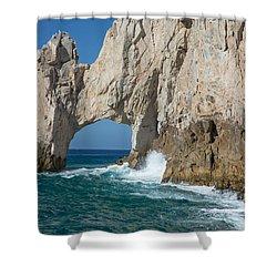 Sea Arch El Arco De Cabo San Lucas Shower Curtain