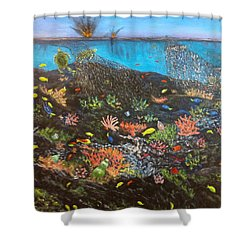 Sea Assault Shower Curtain