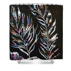 Sea Ferns Shower Curtain