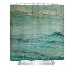 Sea Glass Shower Curtain