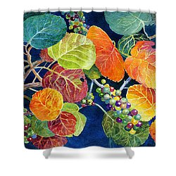 Sea Grapes II Shower Curtain