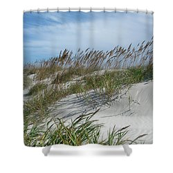 Sea Oats Shower Curtain