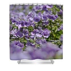 Sea Of Purple Shower Curtain