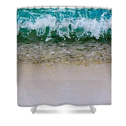 Sea Shore Colors Shower Curtain
