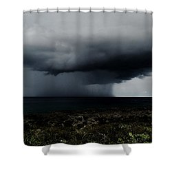 Sea Spout Shower Curtain