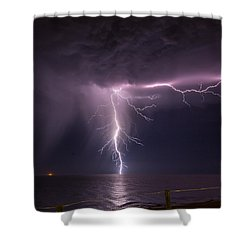 Sea Strike Shower Curtain