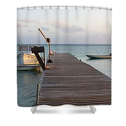 Sea Trance Shower Curtain by Eric Glaser