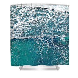 Sea View Shower Curtain