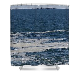 Seabreeze. Shower Curtain by Robert Nickologianis