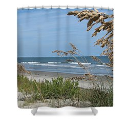 Seabrook Sc Beach Shower Curtain