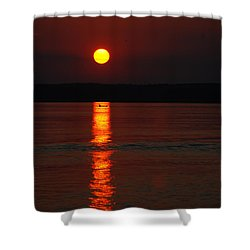Seabrook Sunset Shower Curtain