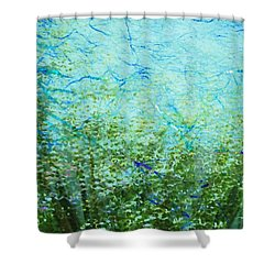 Seagrass Shower Curtain by Darla Wood