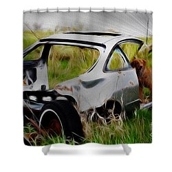 Shower Curtain featuring the photograph Search And Rescue by Liane Wright