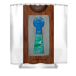 Search For The Key Shower Curtain