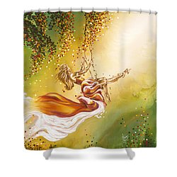 Search For The Sun Shower Curtain