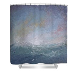 Seascape1 Shower Curtain by Sean Conlon