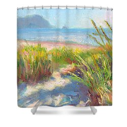 Seaside Afternoon Shower Curtain