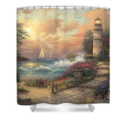 Seaside Dream Shower Curtain