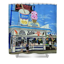 Seaside Memories Shower Curtain