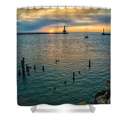 Season Opener Shower Curtain