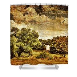 Seasons Change Shower Curtain by Lois Bryan