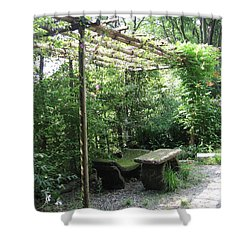 Seat Of Nature Shower Curtain