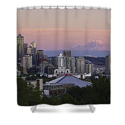 Seattle Sunset - Kerry Park Shower Curtain