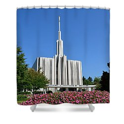 Seattle Temple Shower Curtain