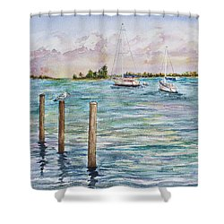 Sebastian Marina Shower Curtain
