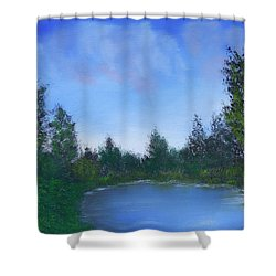 Secluded Paradise Shower Curtain