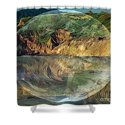 Second Nature Shower Curtain by PainterArtist FIN