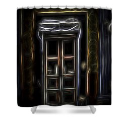 Secret Doorway Shower Curtain
