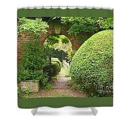 Secret English Garden Shower Curtain by Ann Horn