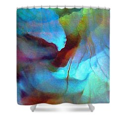 Secret Garden - Abstract Art Shower Curtain by Jaison Cianelli
