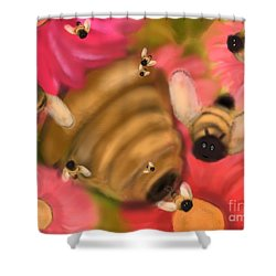 Secret Life Of Bees Shower Curtain