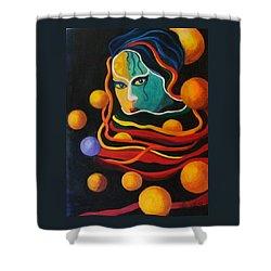 Secrets Shower Curtain by Carolyn LeGrand