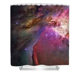 Secrets Of Orion II Shower Curtain