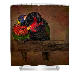 Secrets Shower Curtain by Susan Candelario