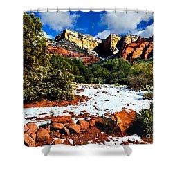 Sedona Arizona - Wilderness Shower Curtain