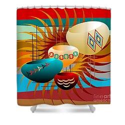 Sedona Still Life 2012 Shower Curtain