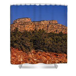 Shower Curtain featuring the photograph Sedona Vista 49 by Mark Myhaver