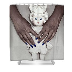 See My Doll Shower Curtain
