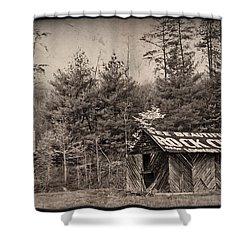 See Rock City  Shower Curtain by Debra and Dave Vanderlaan