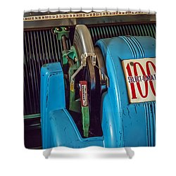 Seeburg Select-o-matic Jukebox Shower Curtain by Brian Wallace