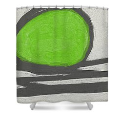 Seed Shower Curtain by Linda Woods